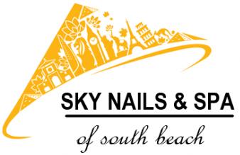Sky Nails & Spa Logo